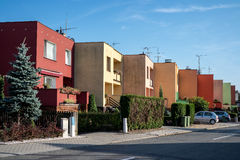 townhouses Royaltyfria Bilder