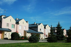 Townhouses Royalty Free Stock Photo