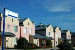 Townhouses Imagens de Stock