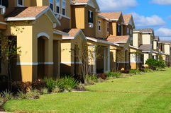 Townhouses Stock Photos