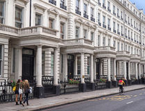 Townhouses in Borough of Kensington, London Royalty Free Stock Images