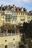 Townhouses in city center of Bern in Switzerland Stock Photography