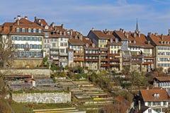 Townhouses in city center of Bern, Switzerland Stock Image