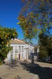 Townhouses, Estepa, Spain. Royalty Free Stock Photos