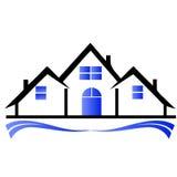 Townhouses logo Stock Photos