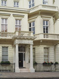 Townhouses in London Stock Image