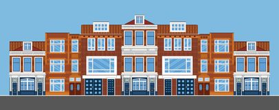 townhouses Mieszkanie styl Fotografia Royalty Free