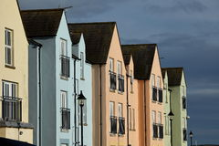 Townhouses in Northern Ireland Royalty Free Stock Image
