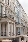 Townhouses in Nottinghill London Stock Photo