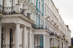 Townhouses in Nottinghill London Stock Photography