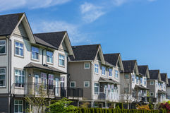 Townhouses Stock Image