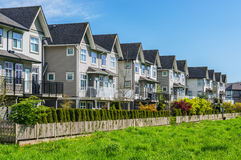 Townhouses Stock Photography