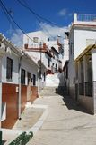 Townhouses, Velez Malaga, Spain. Stock Image