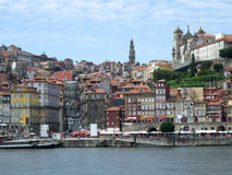 Townscape à Porto Image libre de droits