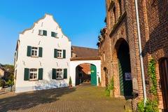 Townscape de Bedburg-Kaster, Alemania Fotos de archivo libres de regalías