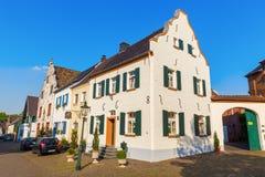 Townscape de Bedburg-Kaster, Alemania Foto de archivo