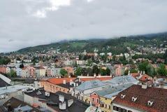 Townscape de Innsbruck Imagenes de archivo