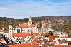 Townscape de Sigmaringen Imagens de Stock Royalty Free