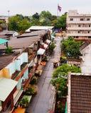 Townscape em Tailândia Imagens de Stock