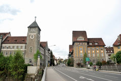 Townscape of Feldkirch Stock Images