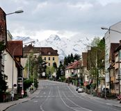 Townscape of Feldkirch Stock Photo