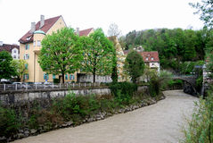 Townscape of Feldkirch Royalty Free Stock Photo