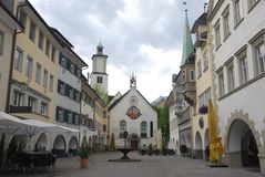 Townscape of Feldkirch Stock Photos