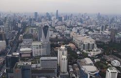 Townscape från över Arkivbilder
