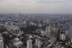 Townscape från över Royaltyfria Bilder