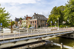 Townscape of Harlingen Royalty Free Stock Image