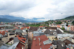 Townscape of Innsbruck Stock Photo