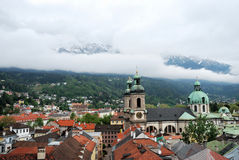 Townscape of Innsbruck Royalty Free Stock Images