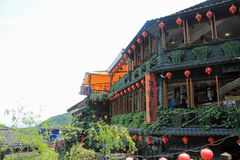 Townscape of Jiufen, Taiwan Royalty Free Stock Photography