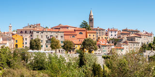 Townscape, Labin, Croatia Stock Photo