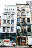 Townscape of Manhattan,New York stock photography