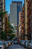 Townscape of Manhattan,New York royalty free stock images
