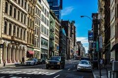 Townscape of Manhattan,New York. Shooting location :  Manhattan, New York royalty free stock photo