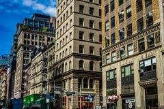 Townscape of Manhattan,New York. Shooting location :  Manhattan, New York stock photo
