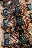 Townscape of Manhattan,New York stock images
