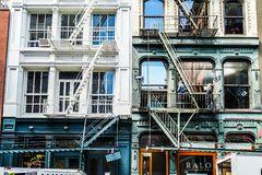 Townscape of Manhattan,New York royalty free stock photography