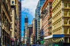 Townscape of Manhattan,New York. Shooting location :  Manhattan, New York stock photos