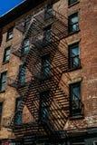 Townscape of Manhattan,New York. Shooting location :  Manhattan, New York royalty free stock image