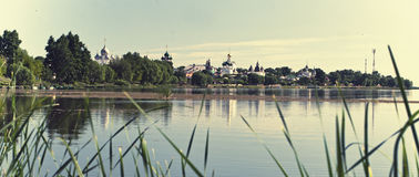 Townscape of Rostov Veliky of the Yaroslavl region. Russia Stock Photos