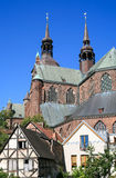 Townscape of Stralsund in Germany Royalty Free Stock Photo