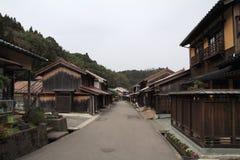 Townscape von Omori-Zone in ginzan Silberbergwerk Iwami (Welterbe) Stockbilder