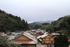 Townscape von Omori-Zone in ginzan Silberbergwerk Iwami (Welterbe) Stockfoto