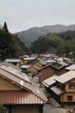 Townscape von Omori-Zone in ginzan Silberbergwerk Iwami (Welterbe) Lizenzfreie Stockfotografie