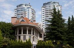 Townscape von Sochi Lizenzfreie Stockfotografie