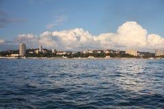 Townscape von Sochi Lizenzfreie Stockfotos