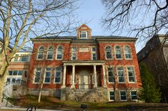 Townsend Industrial School, Newport, Rhode Island Stock Photo